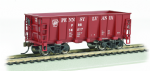 Bachmann 18605 Ore Car - Ore Car Pennsylvania #14517 Tuscan Red